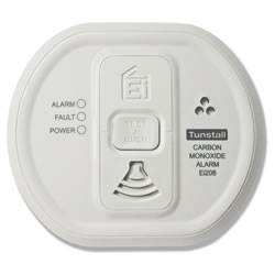 Careline-linked Carbon Monoxide Detector